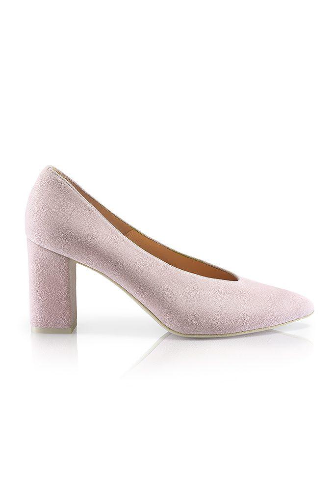 Jolly powder pink court shoe, €91.19 at monkakaminska.com