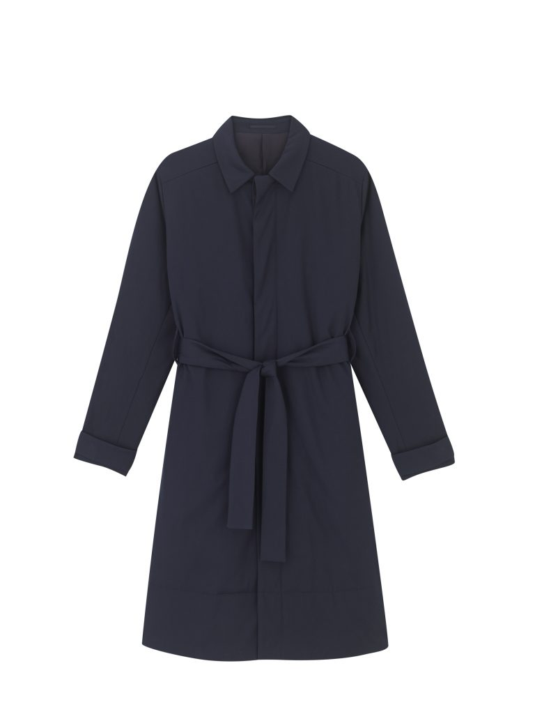 Navy coat, Cos AW18