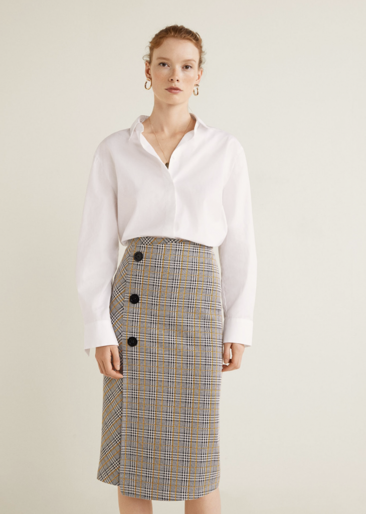 The family staycation skirt, €49.99 at mango.com