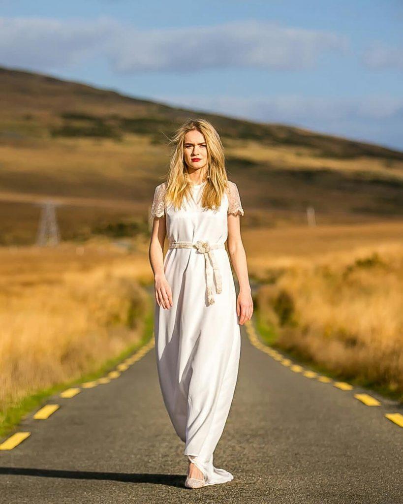 Lauryn dress, €1,450.00–€1,750.00, at bridalandlace.com