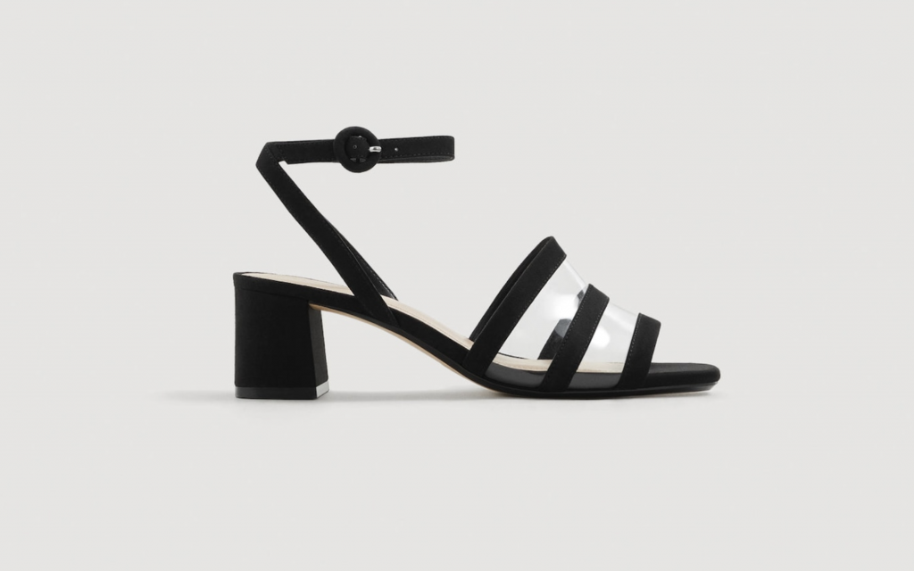 Breathable panel sandals, €29.95 at mango.com