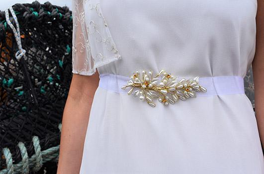 Golden branch belt, €98 at bridalandlace.com