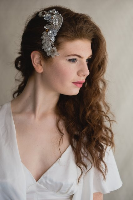 Vintage headpiece, available at dirtyfabulous.com