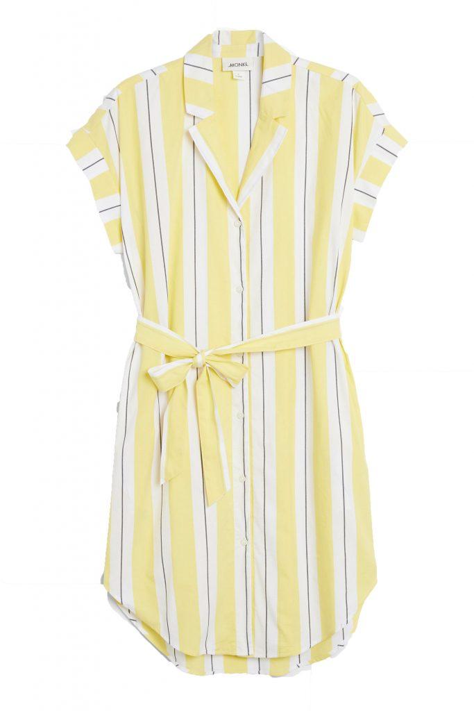 Short-sleeved shirt dress, €30 at monki.com