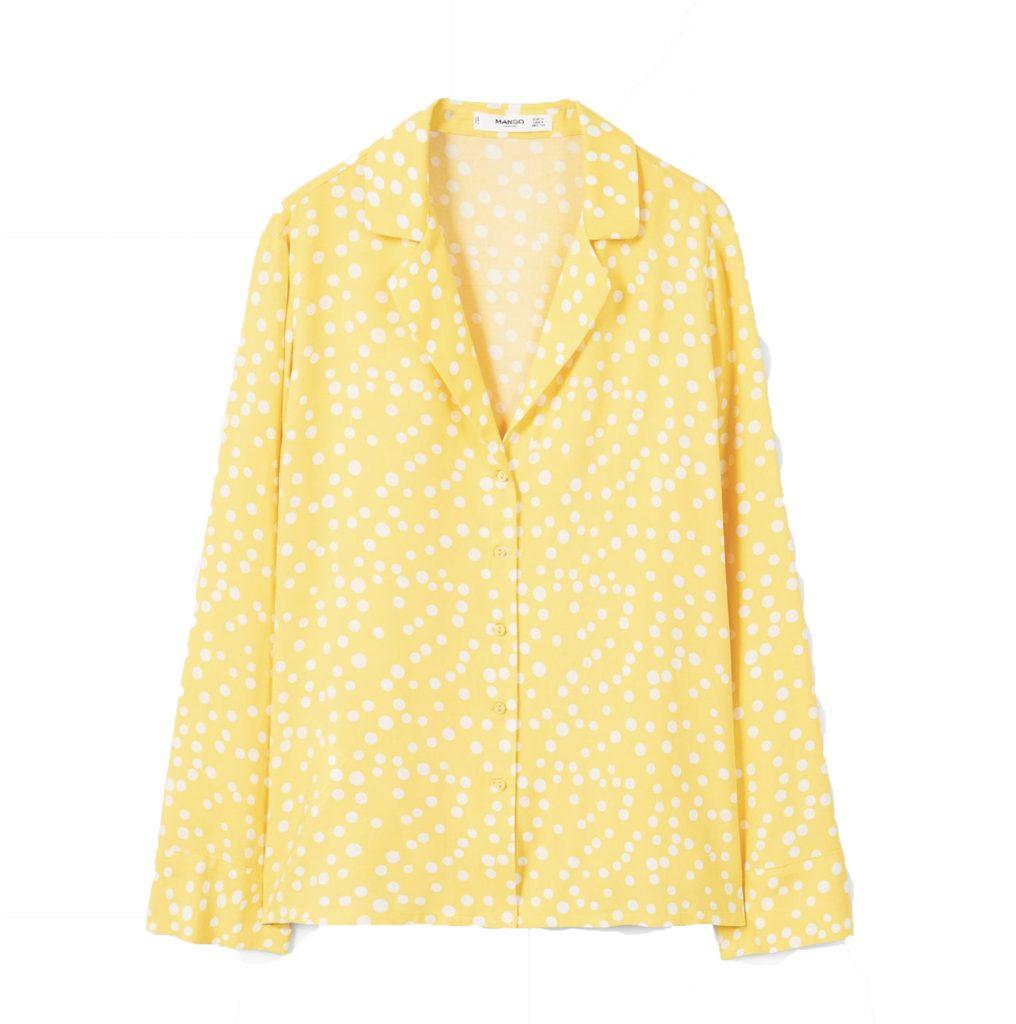 Buttoned flowy shirt, €15.95 at mango.com