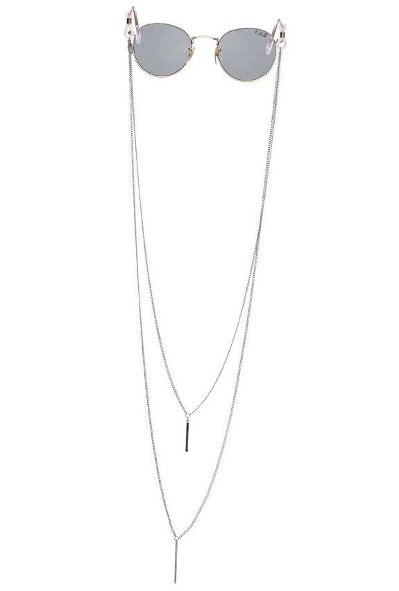 Long double-chain glasses chain, €18.81 atsintillia.com