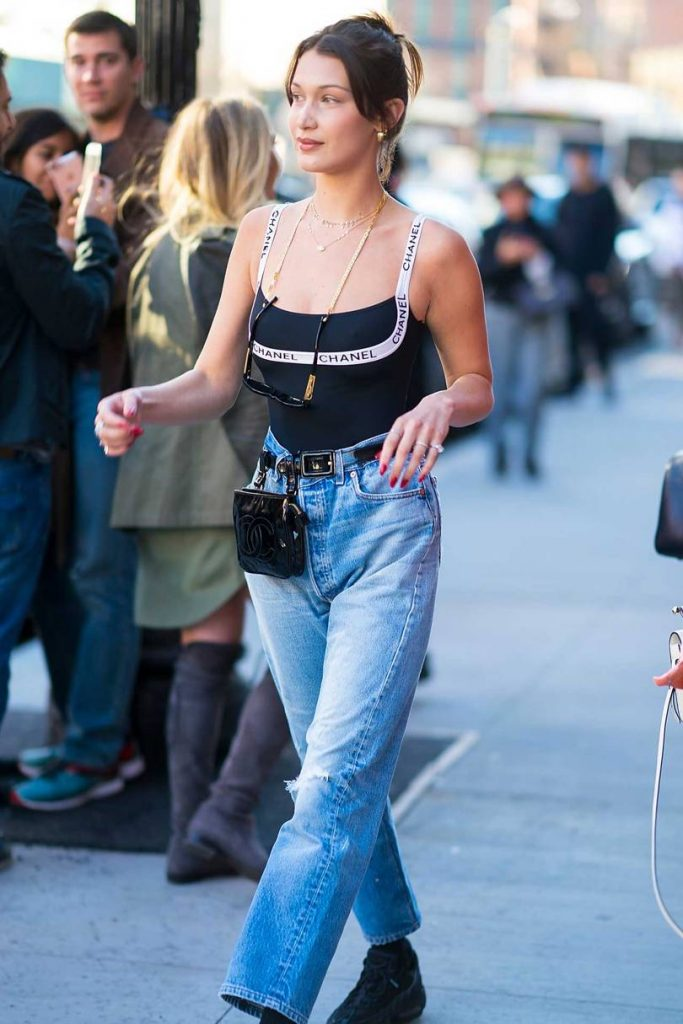 Bella Hadid in the Meat Packing District. Vogue.co.uk