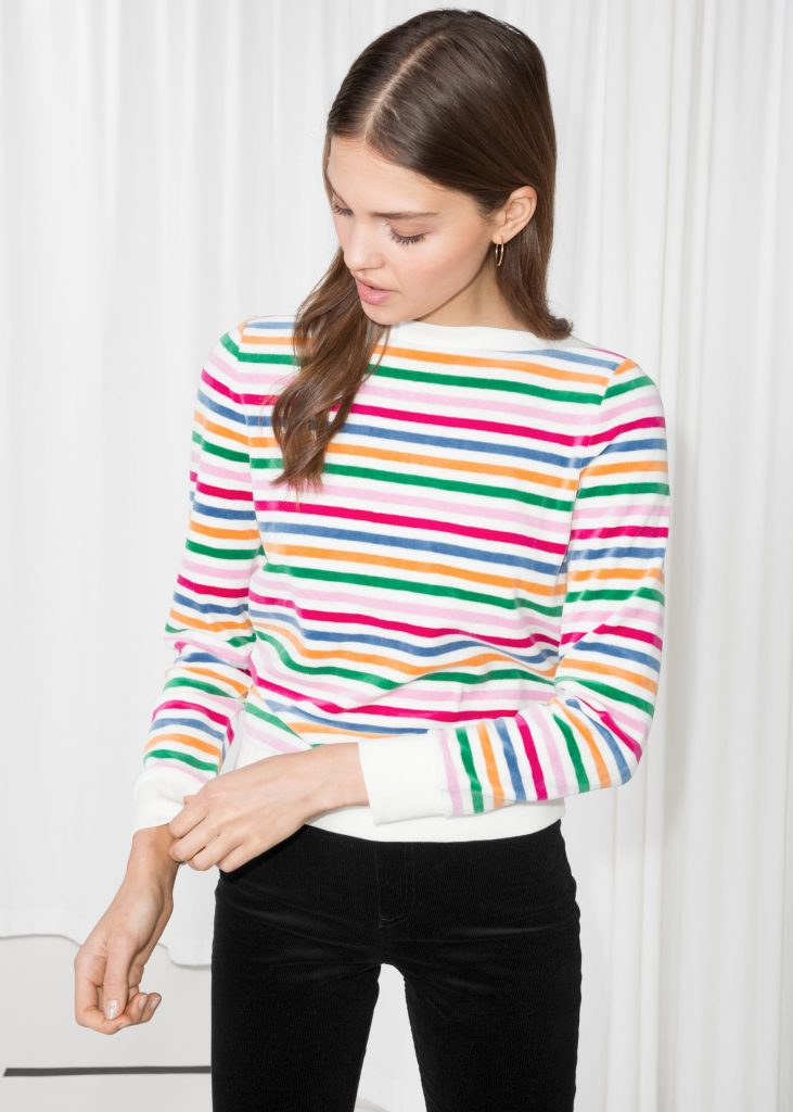 Bateau neck top, €30 at stories.com
