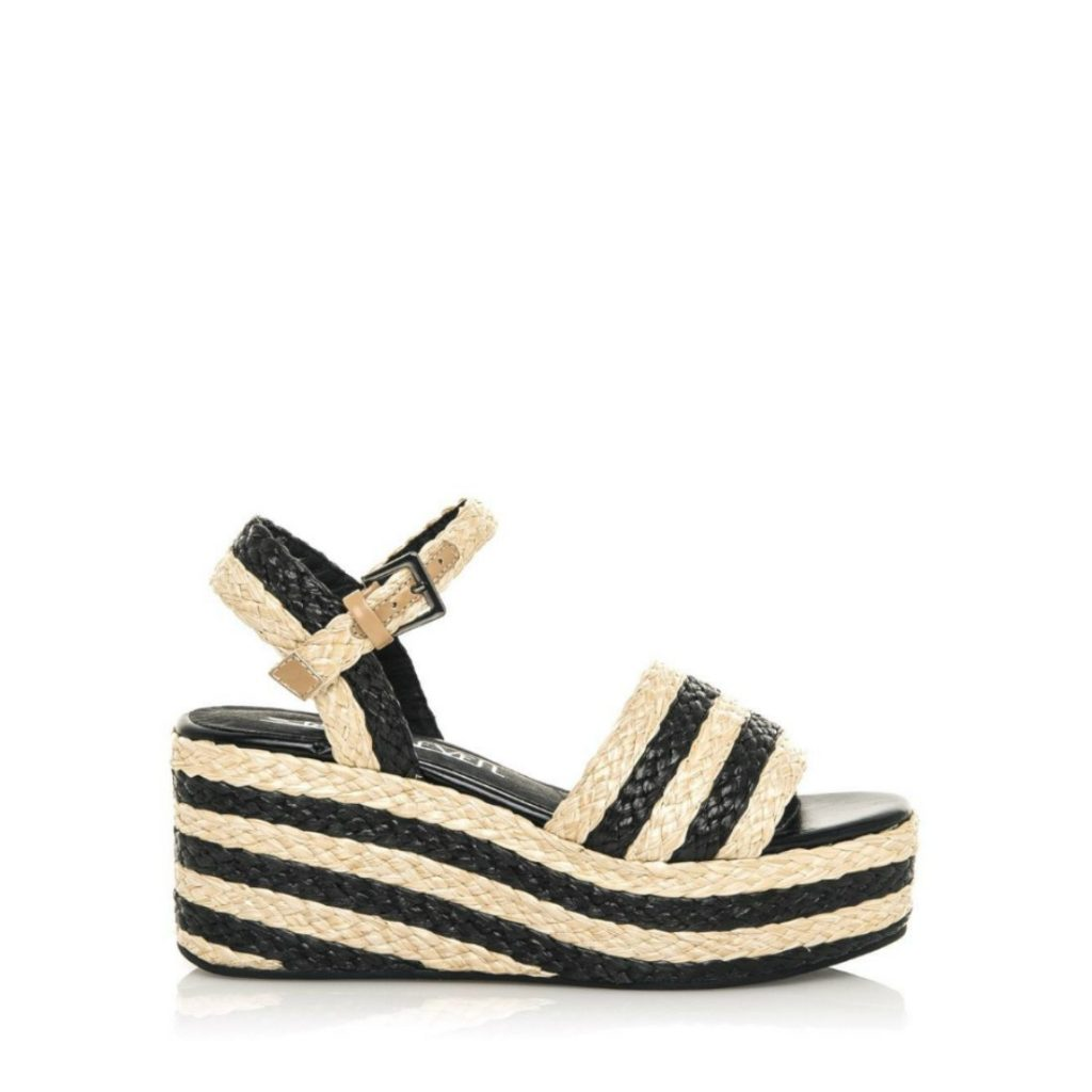Safari woven wedge, €60 at weareshoelab.com