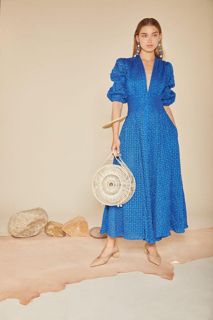 Willow dress in cobalt, €682 at cultgaia.com