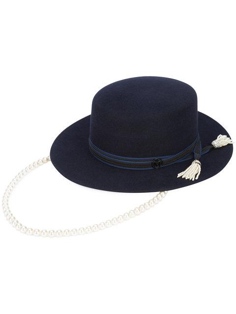 Maison Michel pearl hat