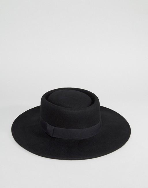 ASOS boater hat