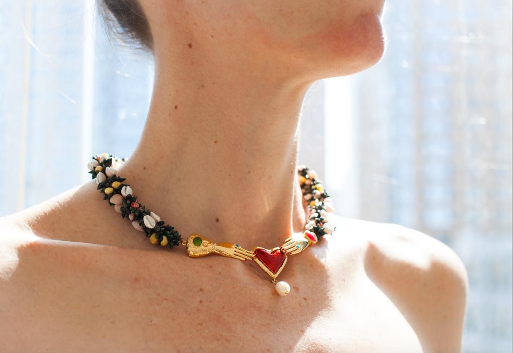 Iris necklace, €390 atheimat-atlantica.com