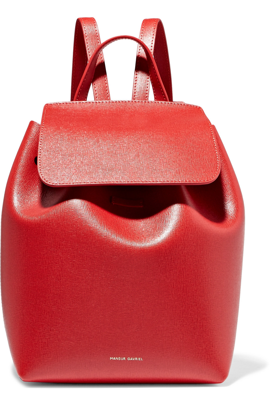 Mini textured-leather backpack by Mansur Gabriel, €695 at net-a-porter.com