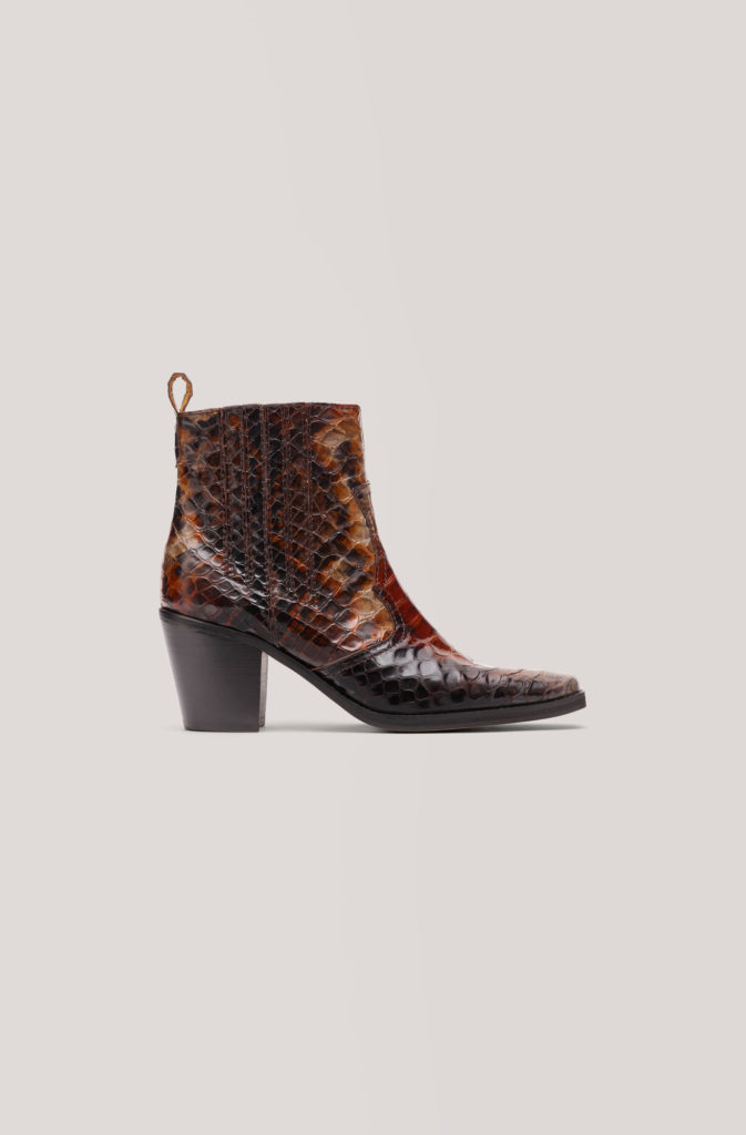 Maryse ankle boots, €419 at ganni.com