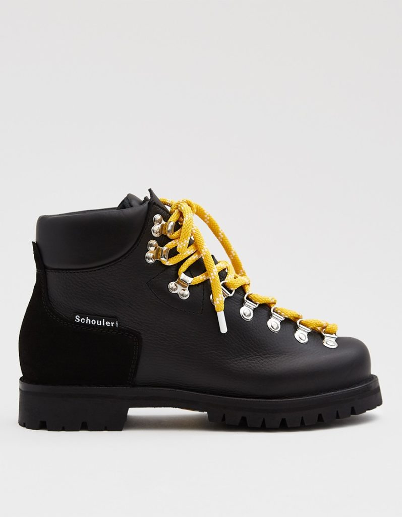 Leather hiking boots by Proenza Schouler, €600 at needsupply.com