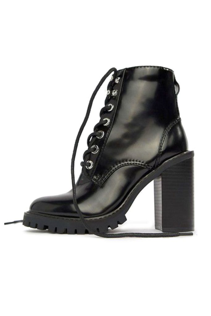 Elm chunky lace-up boots, €55.30 at asos.com