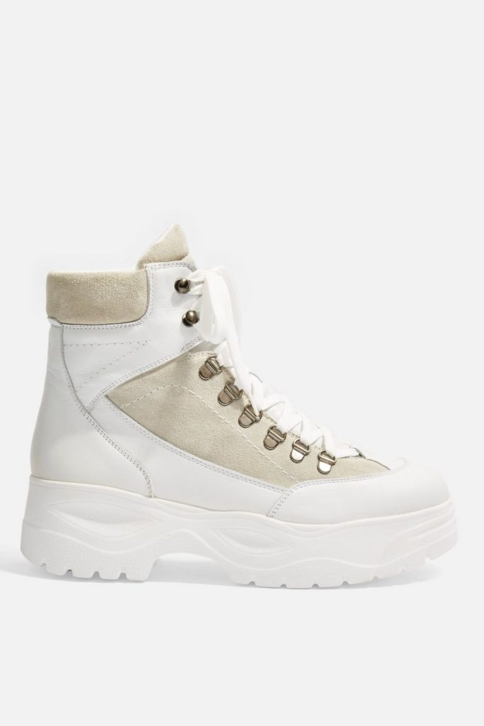 Ants hiker boots, €110 at topshop.com