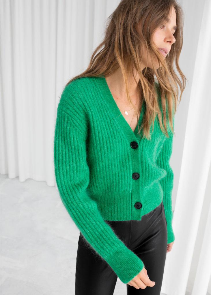 Wool blend Cardigan, €89 at stories.com