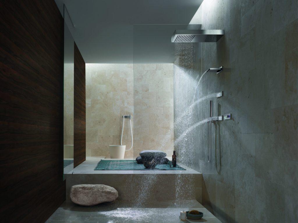 Versatile Dornbracht Vertical Shower