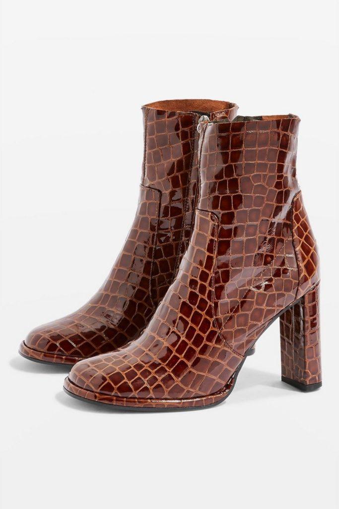 Hattie ankle boots, €125 at topshop.com