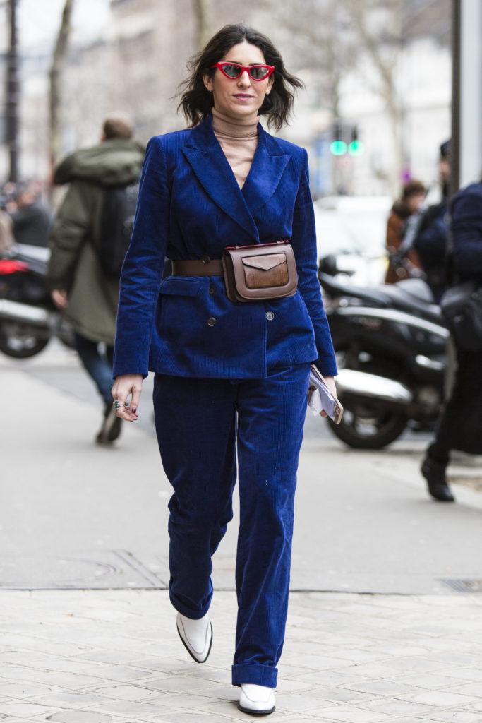 Street style outside shows during Paris Fashion Week. Source, Jason Llyod Evans