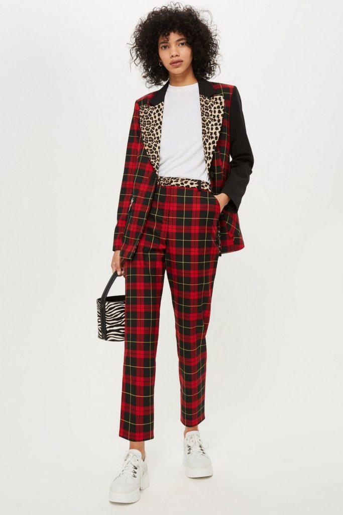 Tartan suit, €52 at tophsop.com