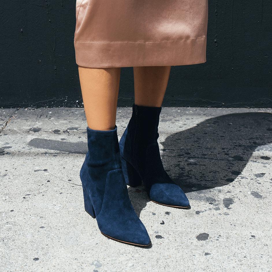 Isla slim ankle boot, €382.66 at loefflerrandall.com