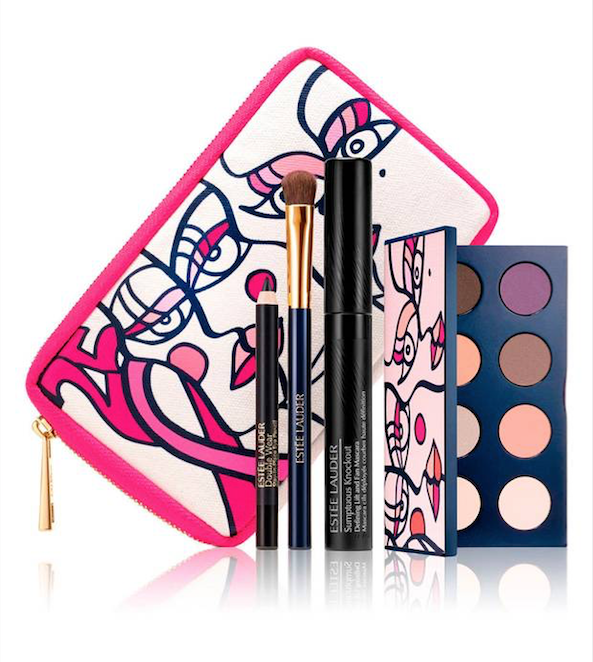 Estee Lauder Breast Cancer Awareness Pink Ribbon Knockout Eyes Collection