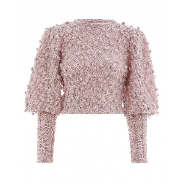 Unbridled bobble sweater, €920 at zimmermanwear.com
