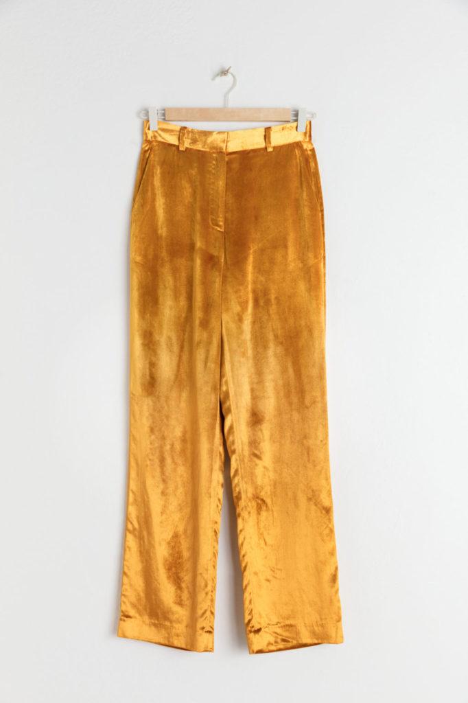 High waisted velvet trousers, €79 at stories.com