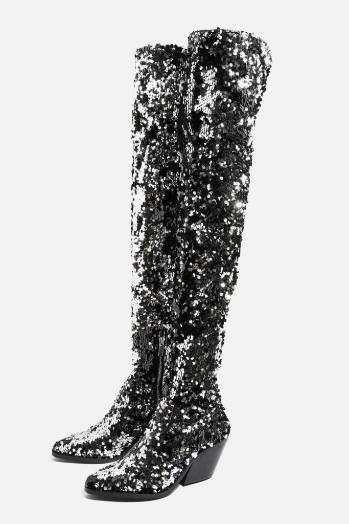 Over the knee boots, €117 at topshop.com