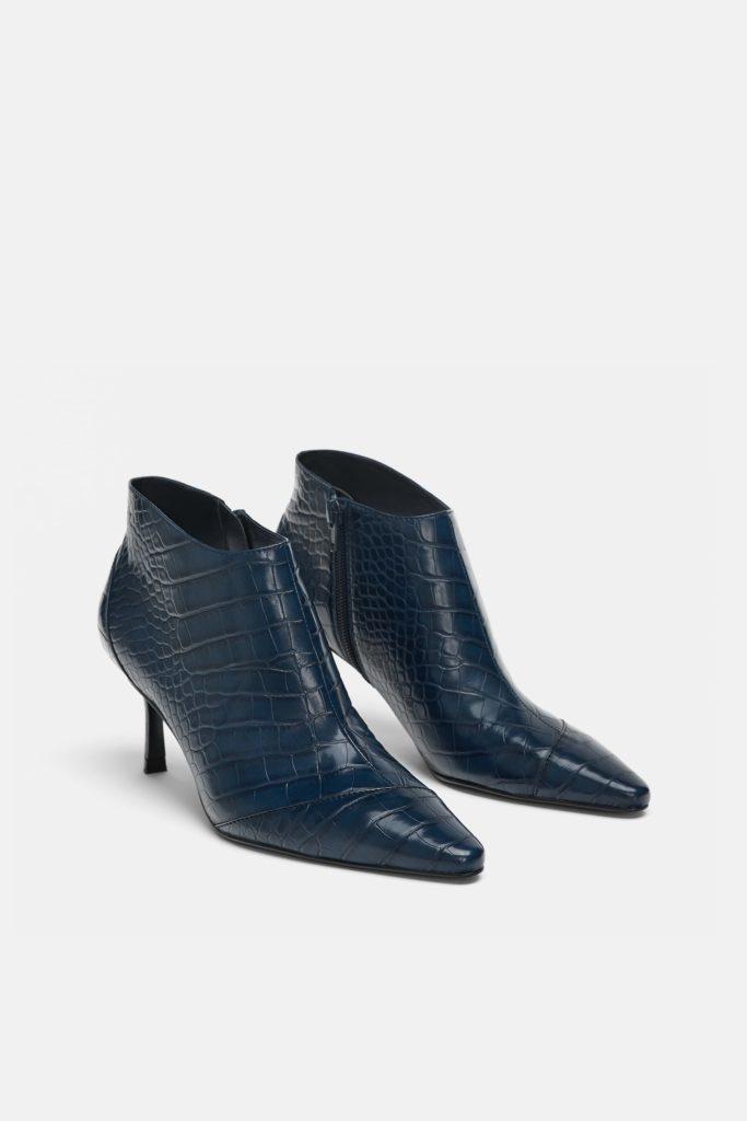 Embellished ankle boots, €39.95 at Zara.com