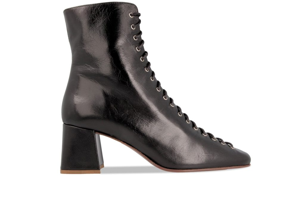 Becca black leather boot, €465 at byfarshoes.com
