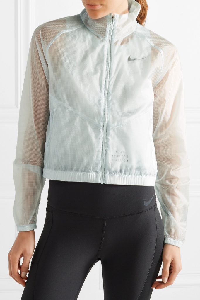 Run Division cropped shell jacket by Nike, €90 at net-a-porter.com