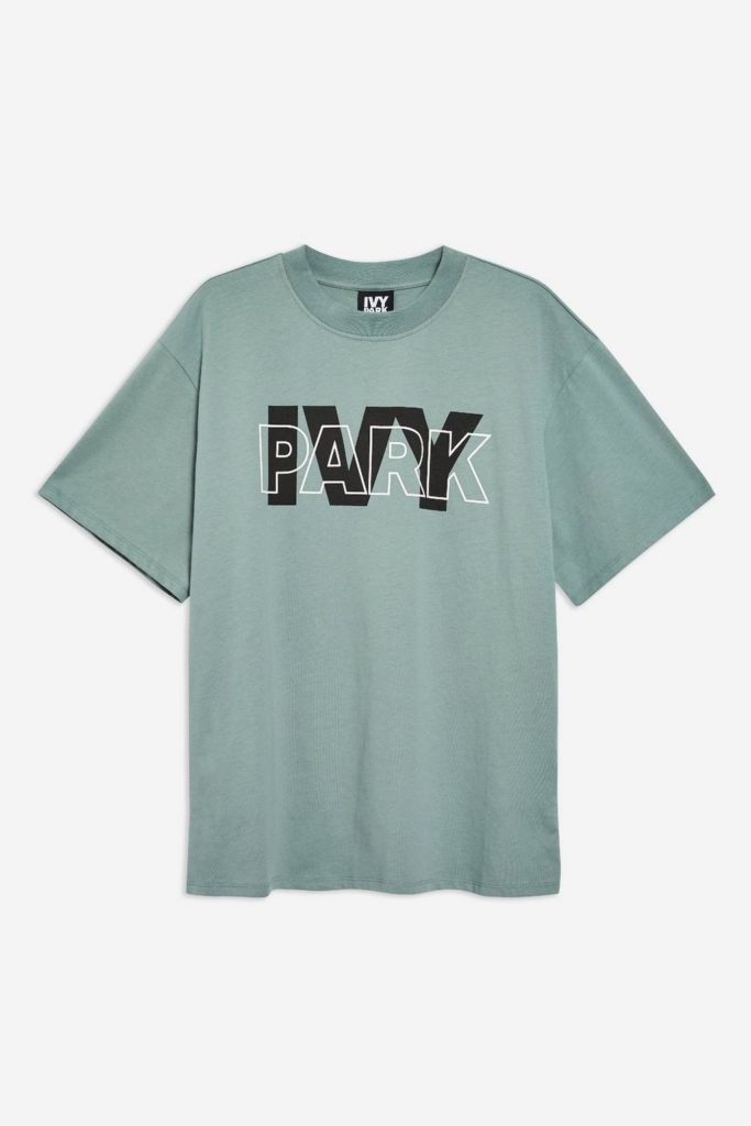 Layer logo oversized T-shirt by Ivy Park, €25 at topshop.com