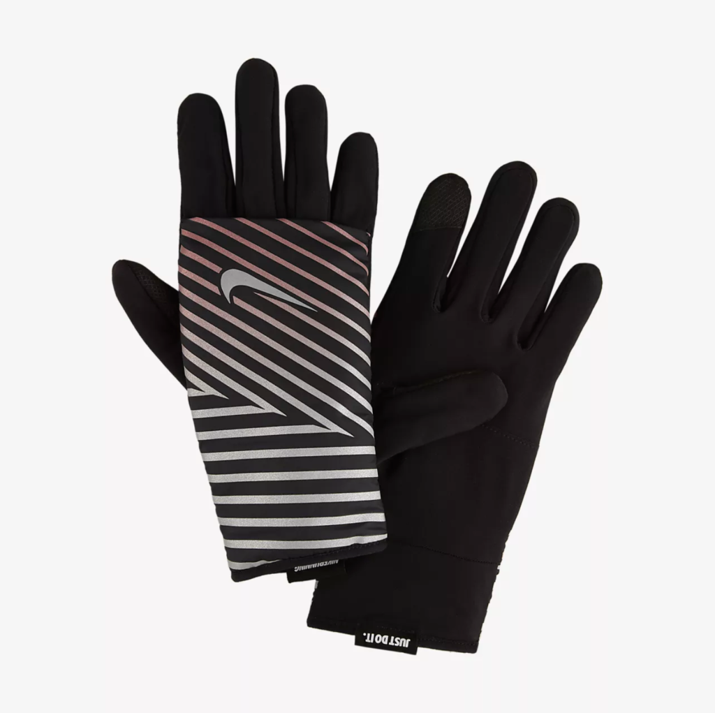 Nike flash quilted running gloves, €45 at nike.com