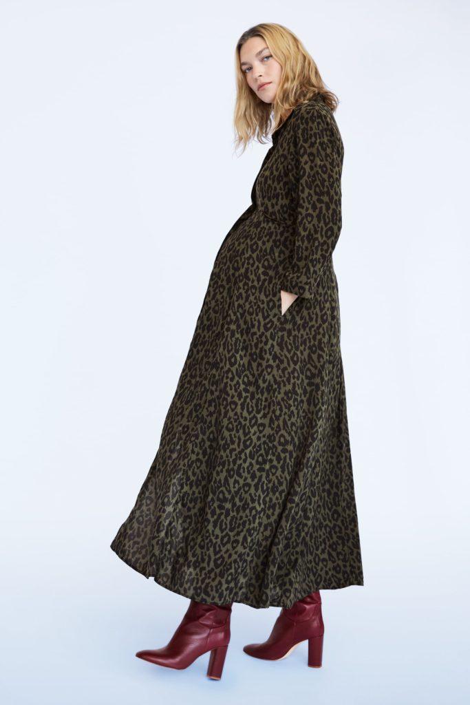 Animal print dress, €61.48 at zara.com