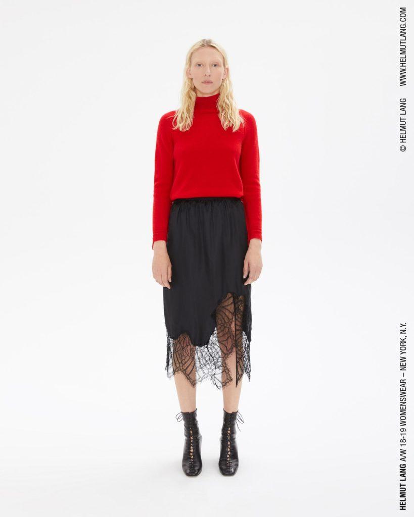 Lace slip skirt, €373.61 at helmutlang.com