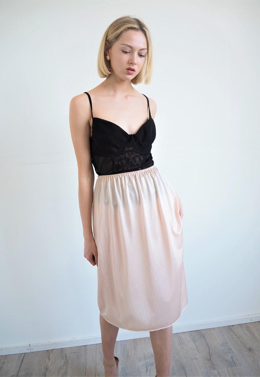 Babydoll vintage slip skirt, €15.10 at marketplace.asos.com