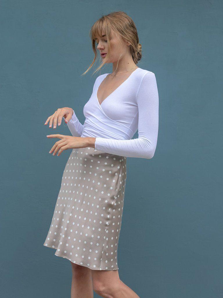 Juno slip skirt, €113.40 at lilyashwell.com