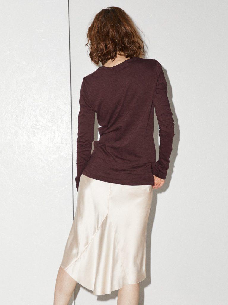 Bias godet silk-satin slip skirt by Raey, €201 at matchesfashion.com