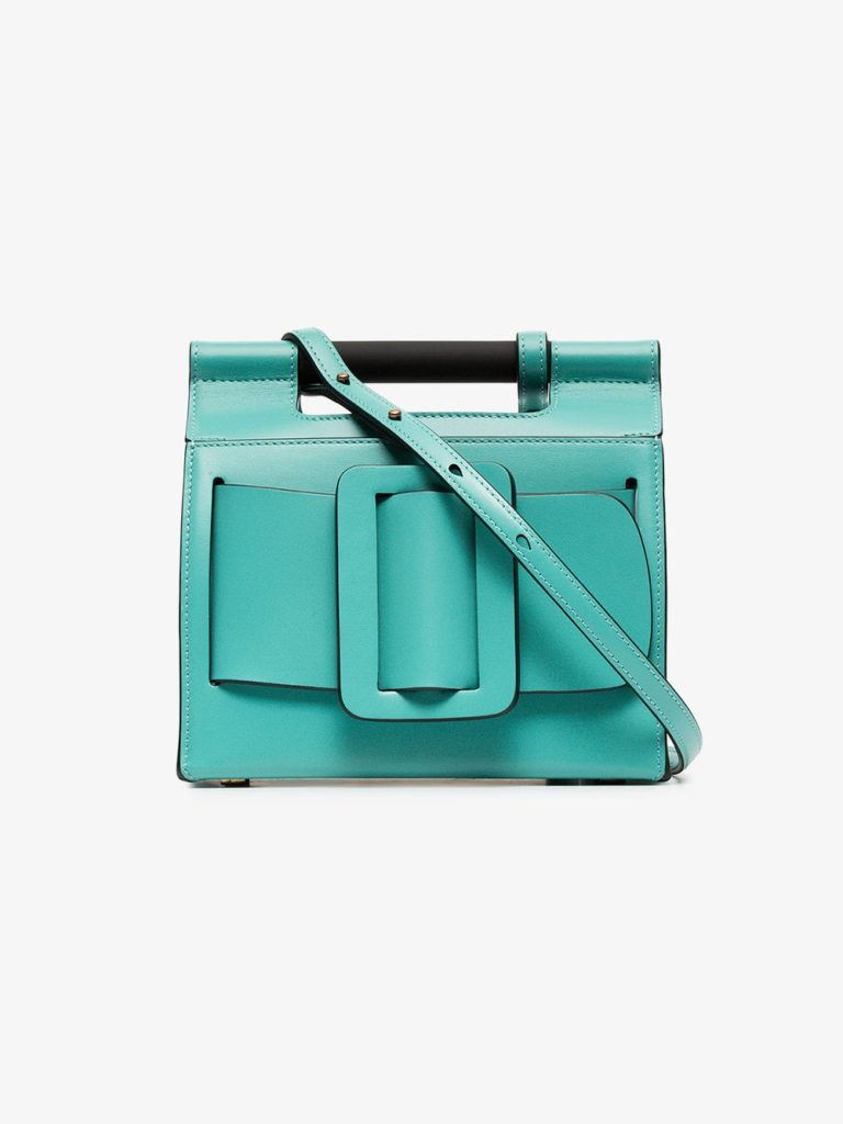 Green Romeo leather shoulder bag by Boyy, €716.64 at brownsfashion.com
