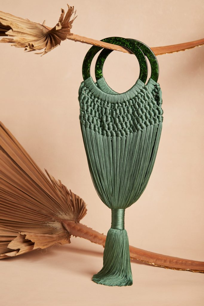 Angelou bag in malachite, €261.19 at cultgaia.com
