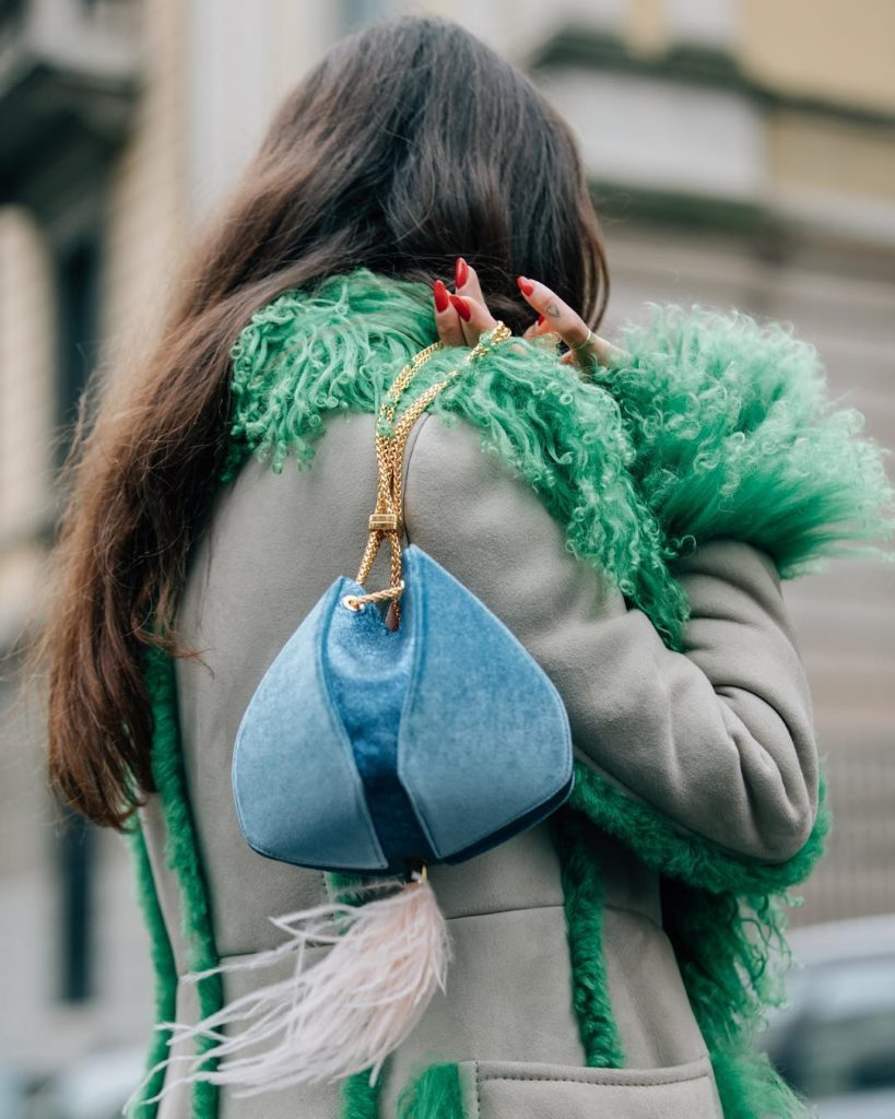 Small Cindyfeather bag by The Volon, €756 at modaoperandi.com