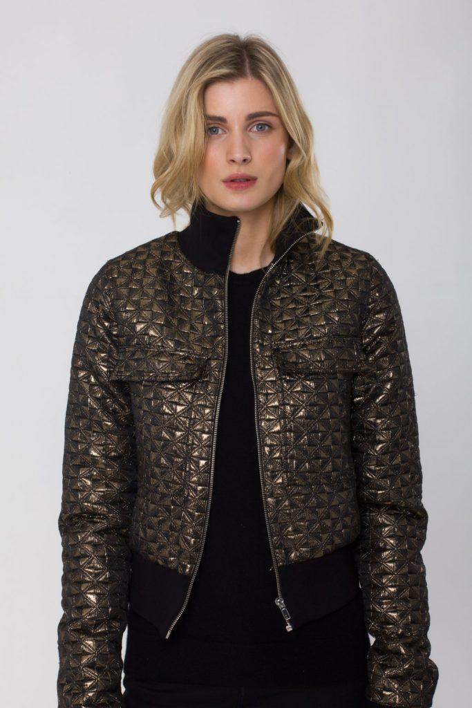 Lisa bomber jacket, €229 at theoandgeorge.com