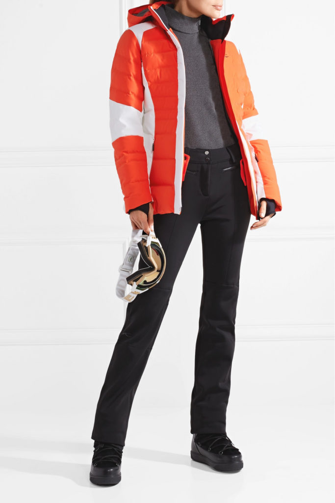 Duana two-tone quilted shell down jacket, €490 at netaporter.com