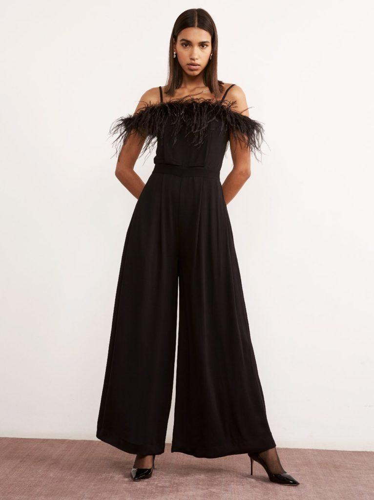 Bianca feather jumpsuit, €175 at kireistudio.com
