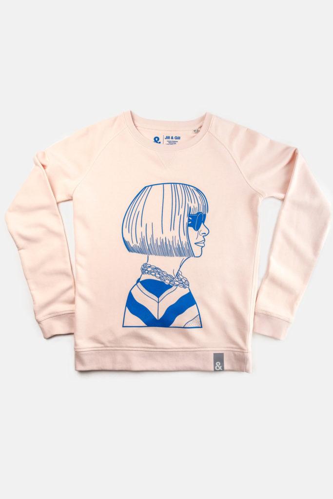 Limited editionAnna sweater, €120 at jillandgill.com
