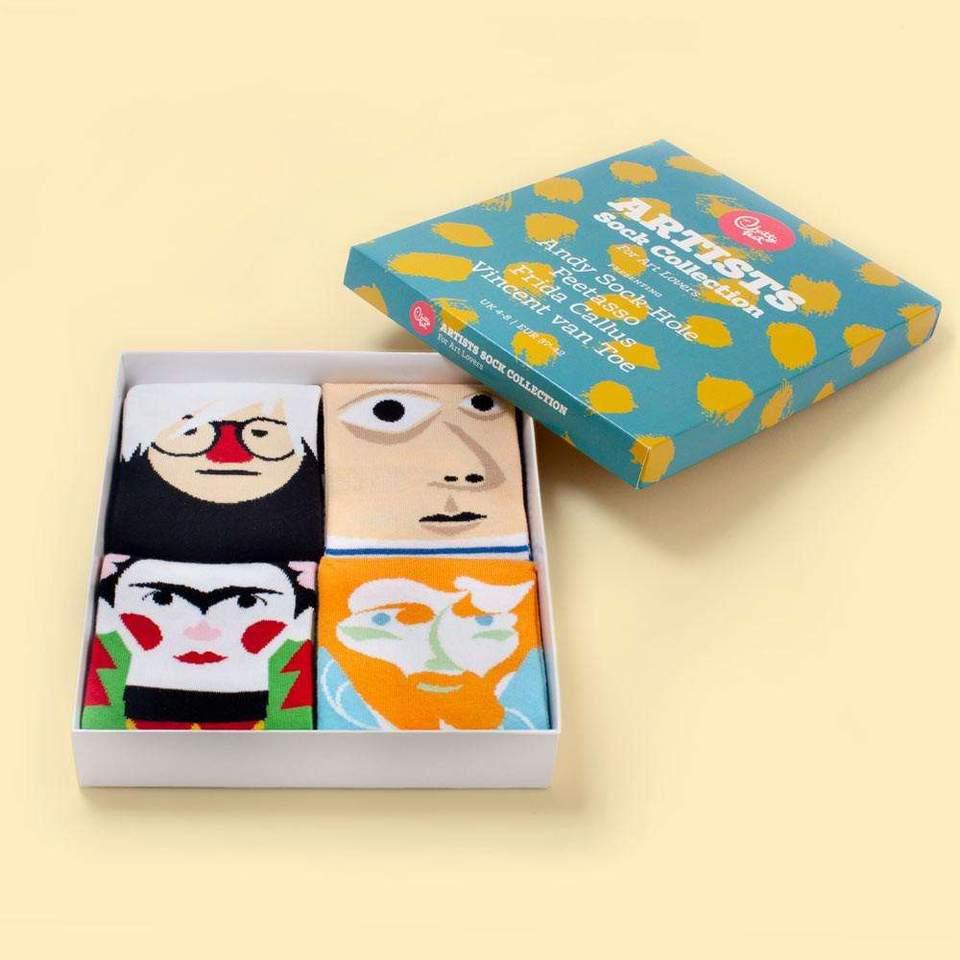 Chatty feet - the artist gift box, €35 at chaosandharmony.com